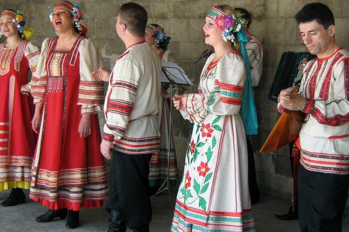 Русские народные музыканты