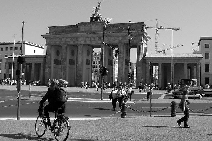 Чёрно-белый Берлин