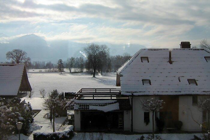 Снег в Уцнахе