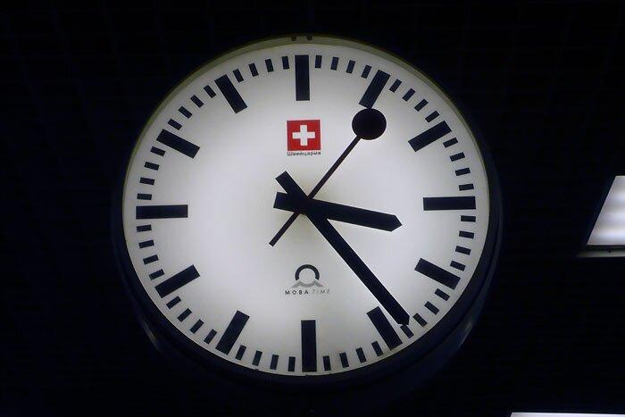 Часы на Ладожском