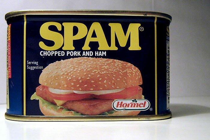 Консервы Spam